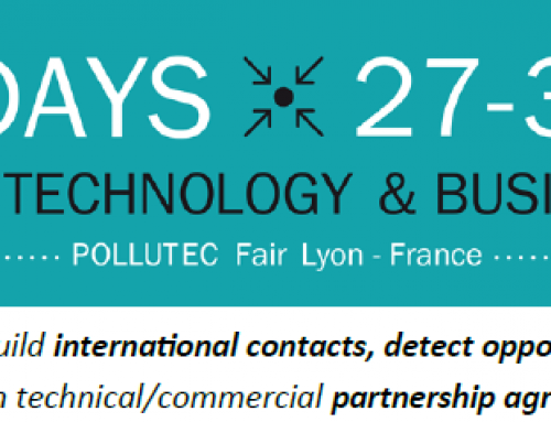 Green Days – International Technology Business Meetings, 27 – 30 November 2018