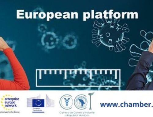 EEN – CCI a RM oferă suport  mediului de afaceri prin intermediul Platformei on-line: Care & Industry together against CORONA