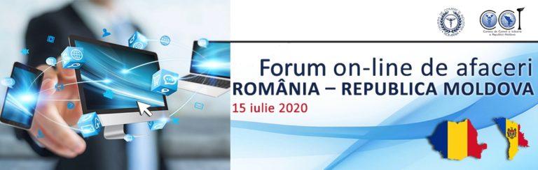 Forumul online al oamenilor de afaceri Republica Moldova – România